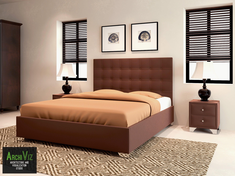 Дизайн спальни Турин