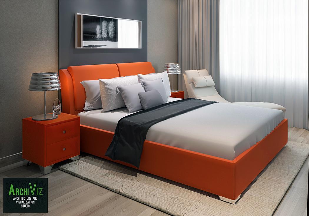 Моделирование спальни Калифорния